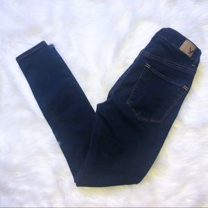 American eagle super high SSS jegging size 6R